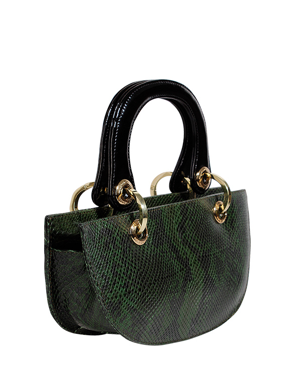 Cartera Satchel DS-2488 Color Verde