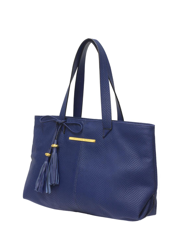 Cartera Satchel DS-2511 Color Azul