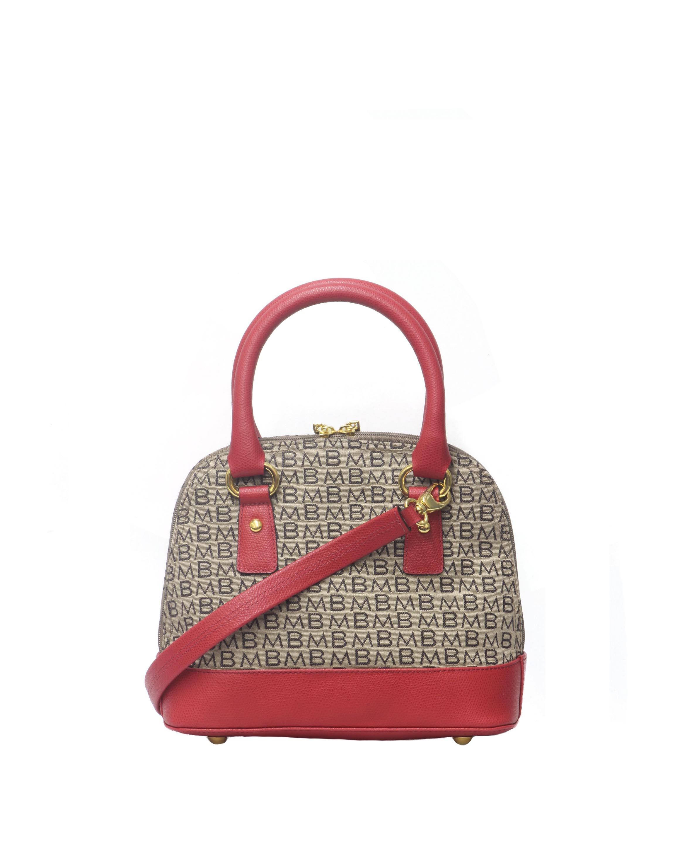 Cartera Satchel DS-2522LB Color Rojo