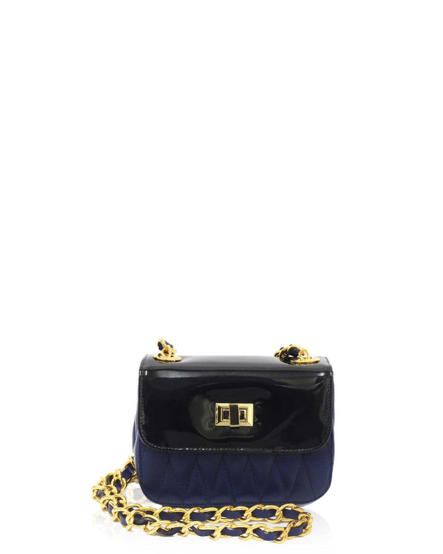 Cartera Satchel DS-2571 Color Azul