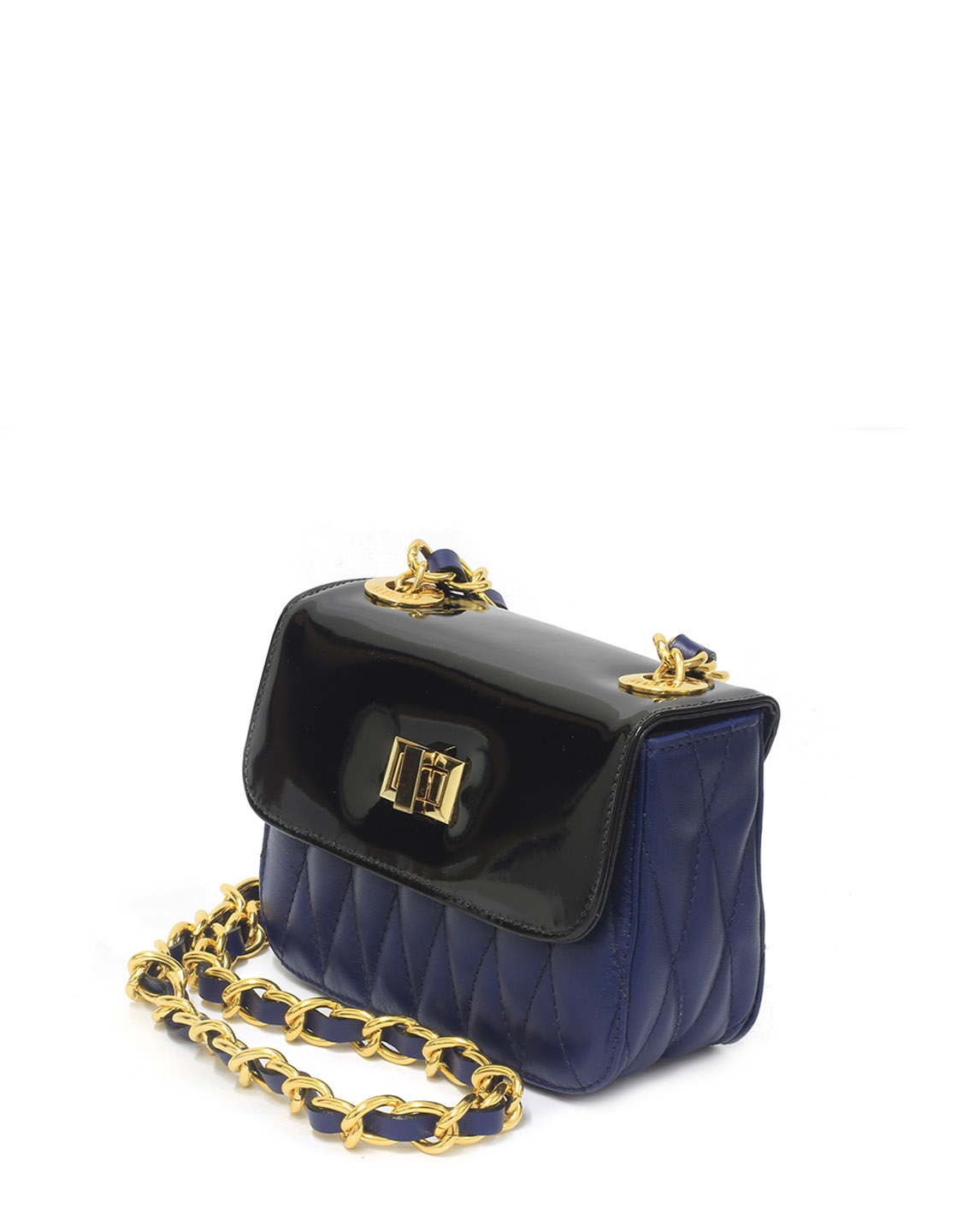 Cartera Satchel DS-2571 Color Azul
