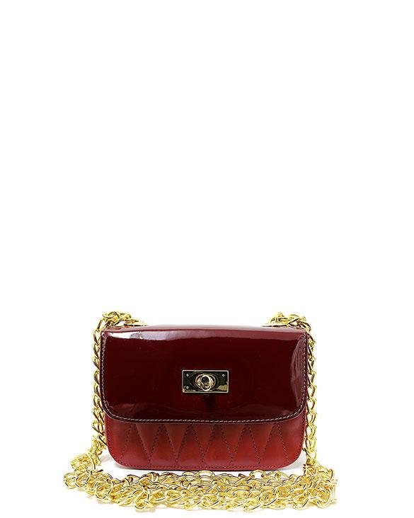Cartera Satchel DS-2571 Color Rojo