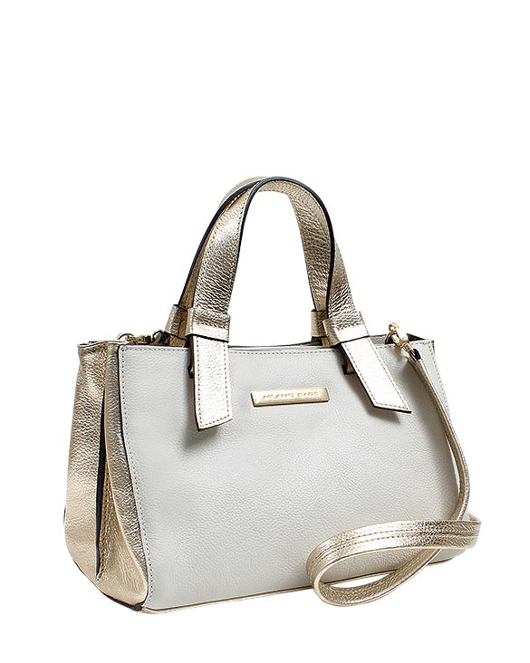 Cartera Satchel DS-2614 Color Blanco