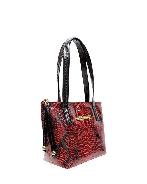Cartera Satchel DS-2640 Color Rojo