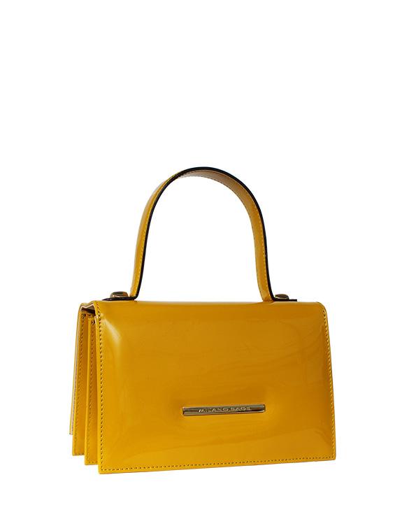 Cartera Satchel DS-2657 Color Amarillo
