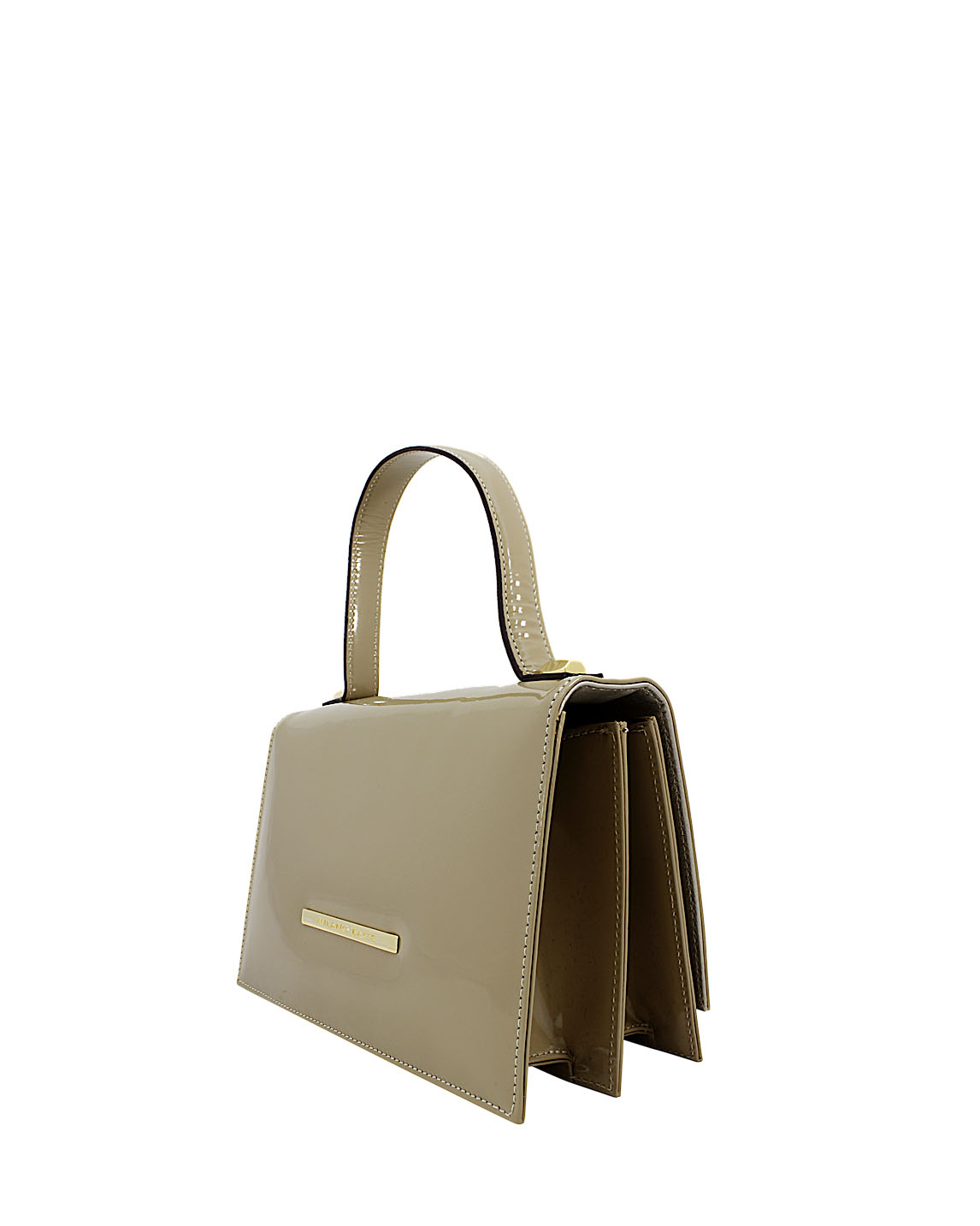 Cartera Satchel DS-2657 Color Beige