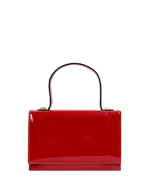 Cartera Satchel DS-2657 Color Rojo