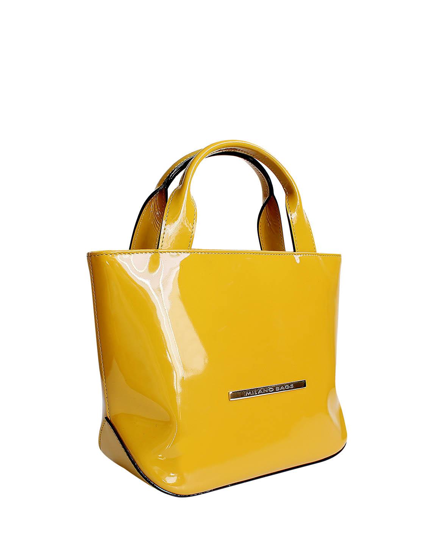 Cartera Satchel DS-2658 Color Amarillo