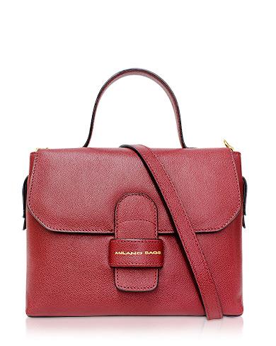 Cartera Satchel DS-2670 Color Rojo