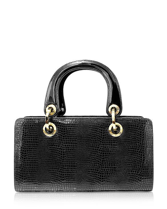 Cartera Satchel DS-2761 Color Negro