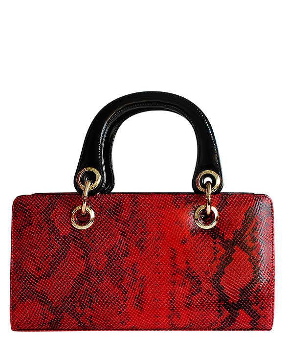 Cartera Satchel DS-2761 Color Rojo