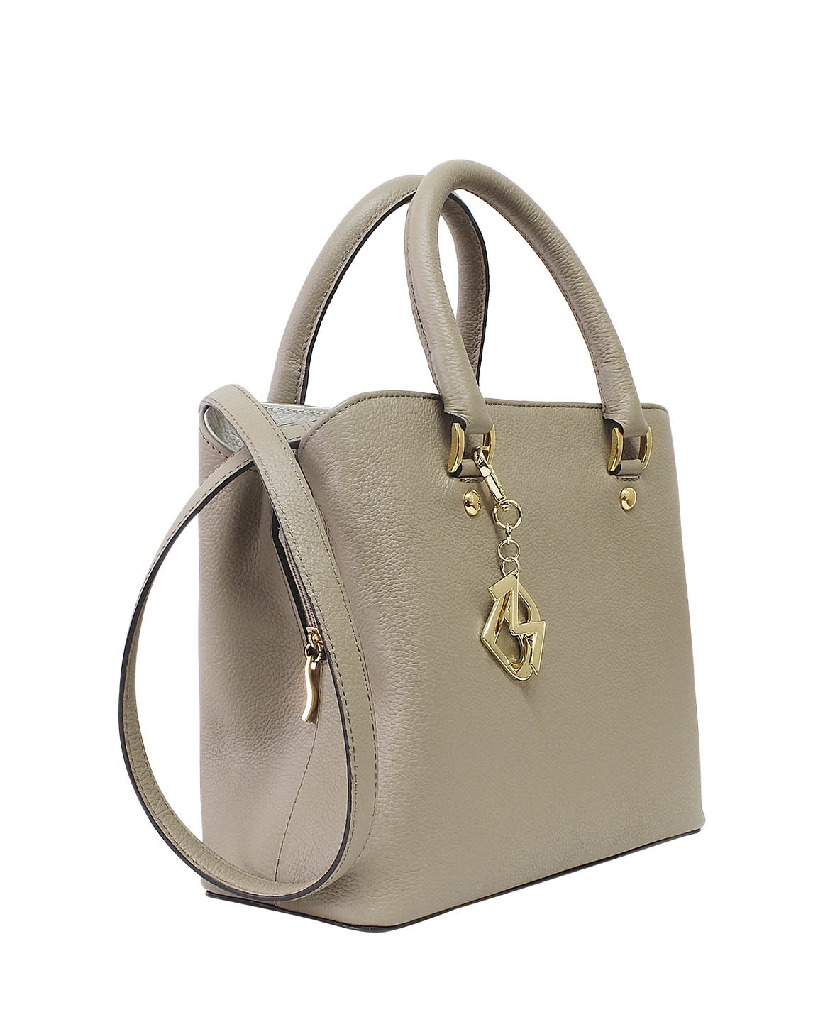 Cartera Satchel DS-2808 Color Beige