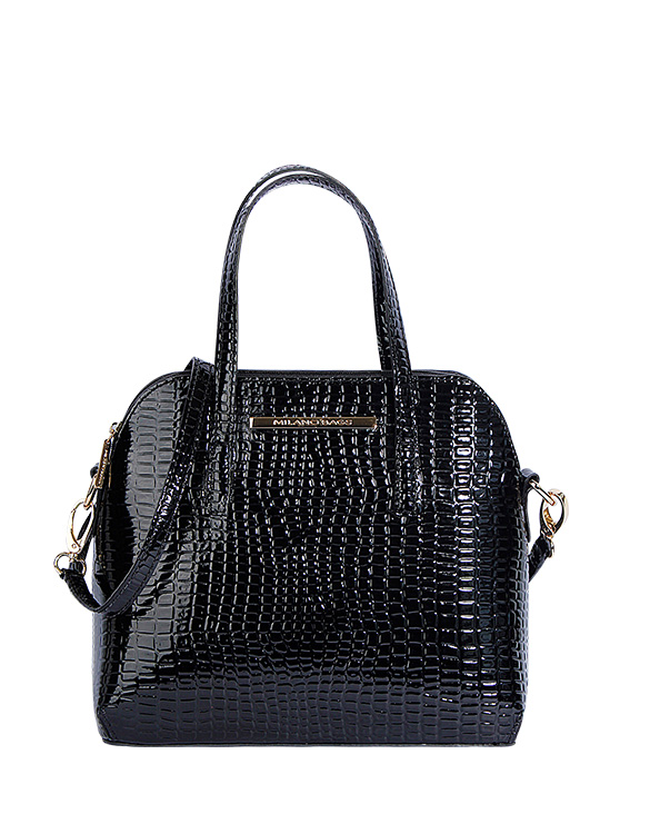 Cartera Satchel DS-2810 Color Negro
