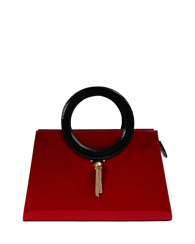 Cartera Satchel DS-2841 Color Rojo