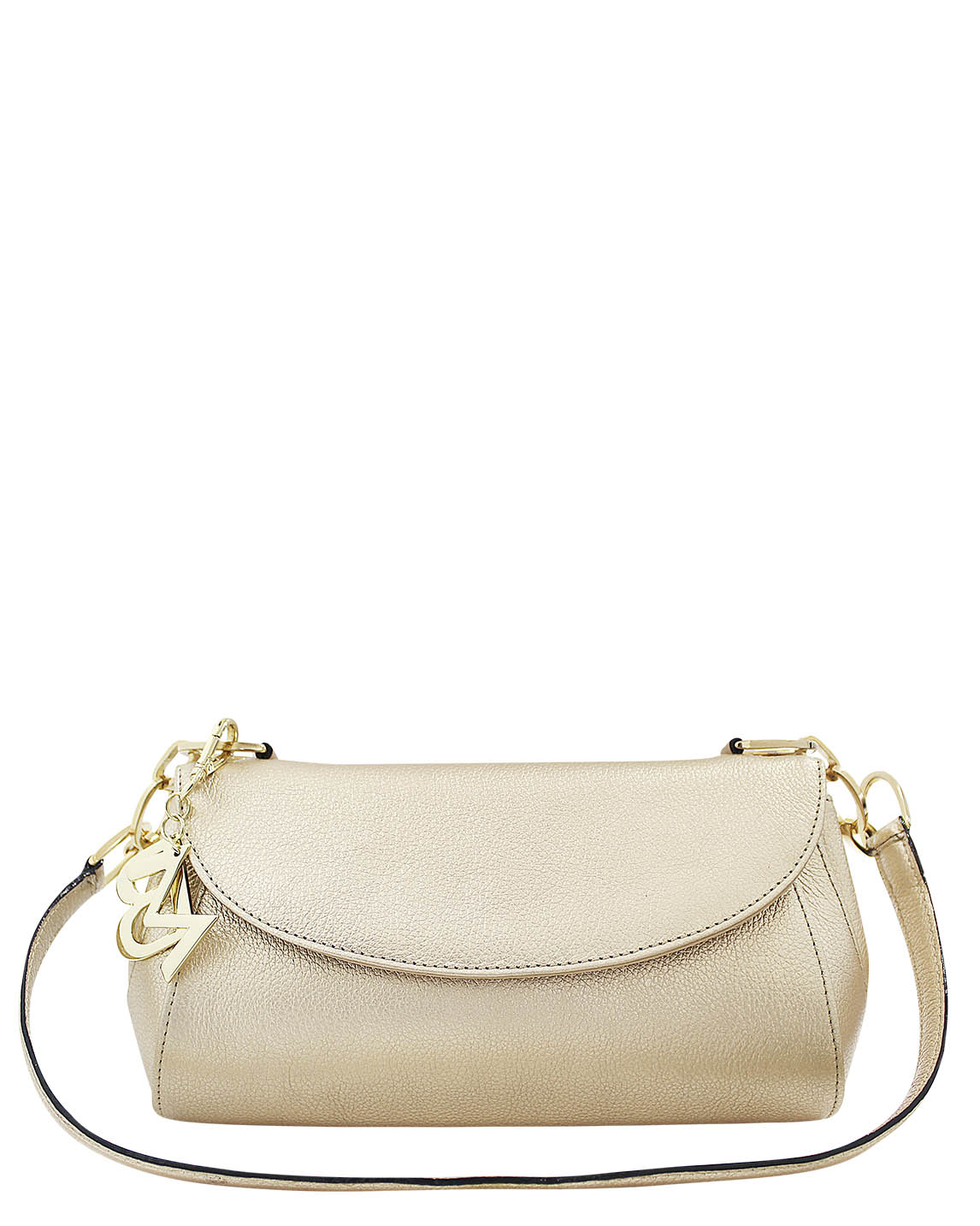 Cartera Satchel DS-2842 Color Oro