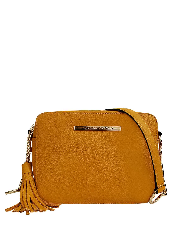 Cartera Satchel DS-2863 Color Amarillo