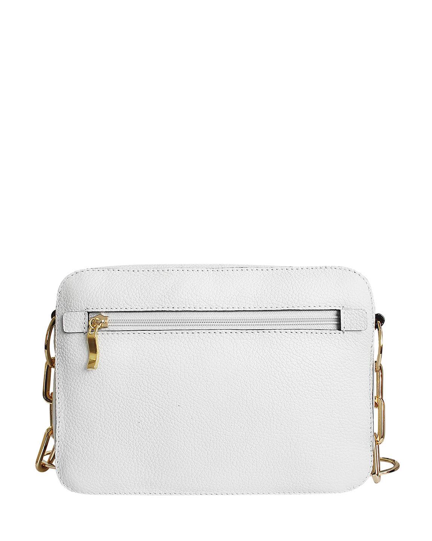 Cartera Satchel DS-2863 Color Blanco