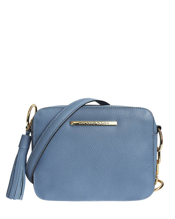 Cartera Satchel DS-2863 Color Celeste