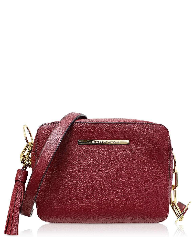 Cartera Satchel DS-2863 Color Rojo