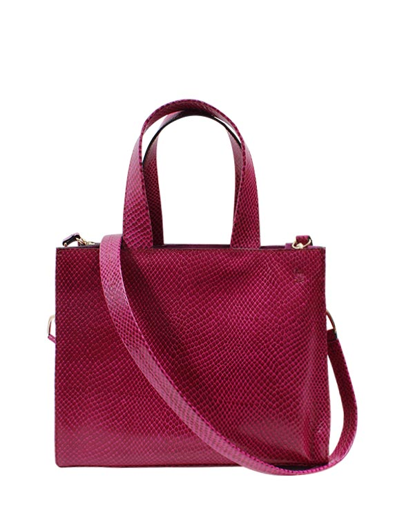Cartera Satchel DS-2871 Color Fucsia