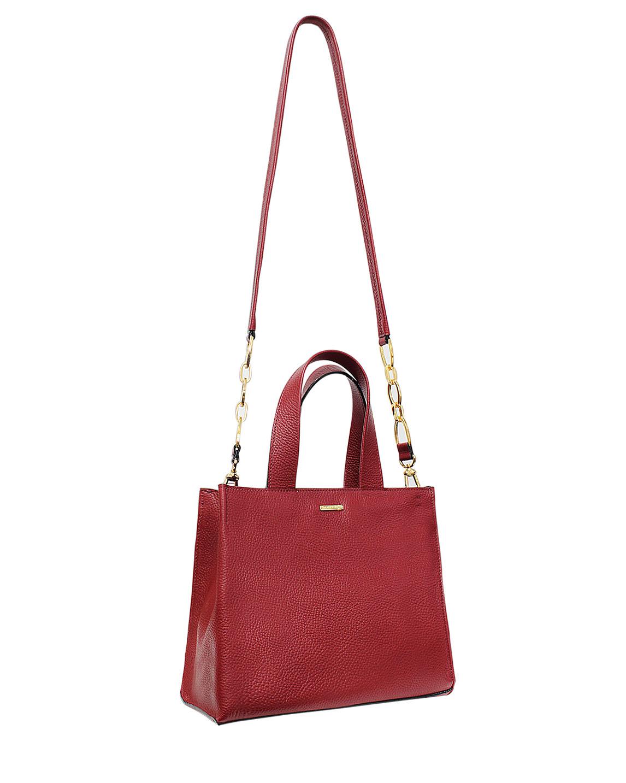 Cartera Satchel DS-2871 Color Rojo