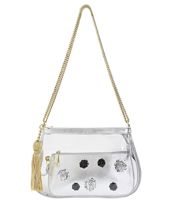 Cartera Satchel DS-2983 Color Blanco