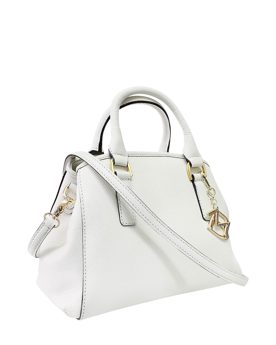 Cartera Satchel DS-2994 Color Blanco