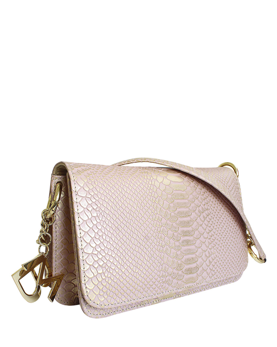 Cartera Satchel DS-2995 Color Rosa