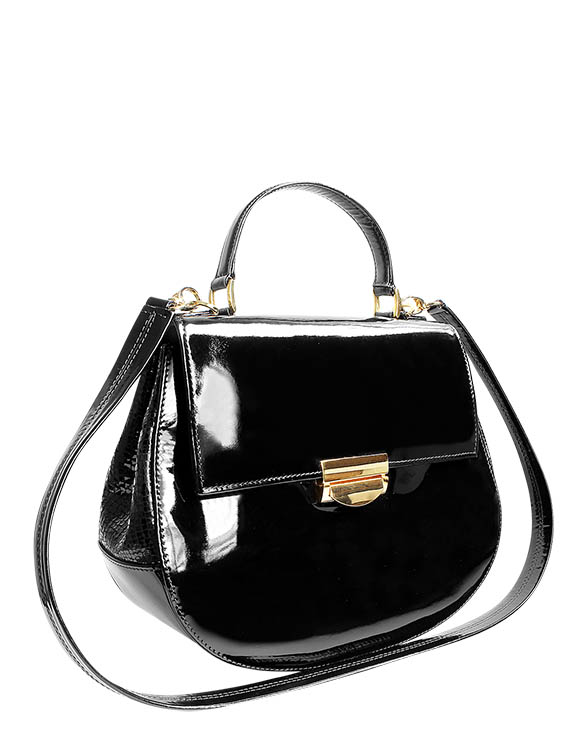 Cartera Satchel DS-2996 Color Negro