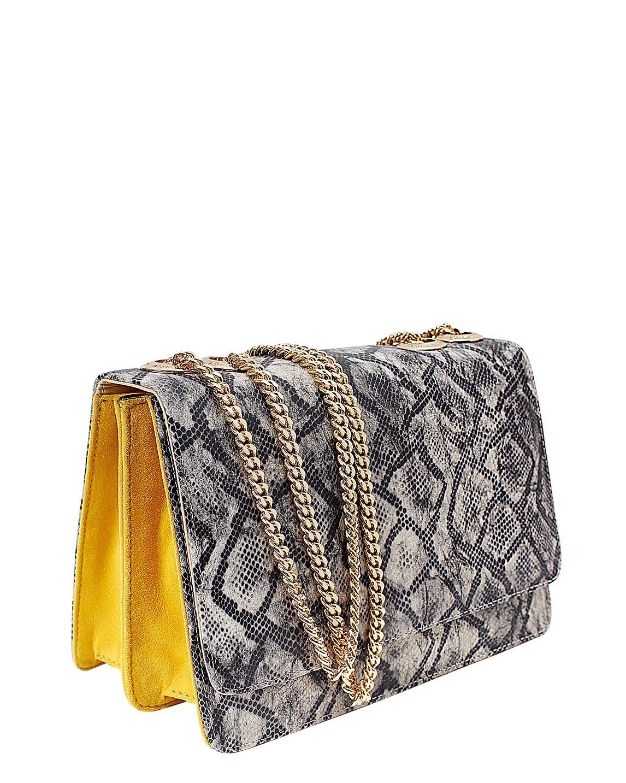 Cartera satchel DS-3037 Color Negro