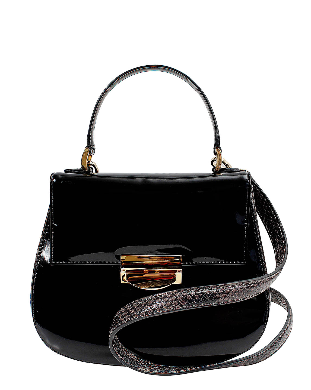 Cartera Satchel DS-3079 Color Negro