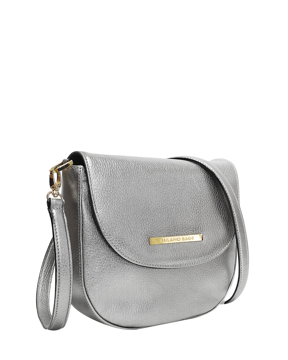 Cartera Satchel DS-3086 Color Plata