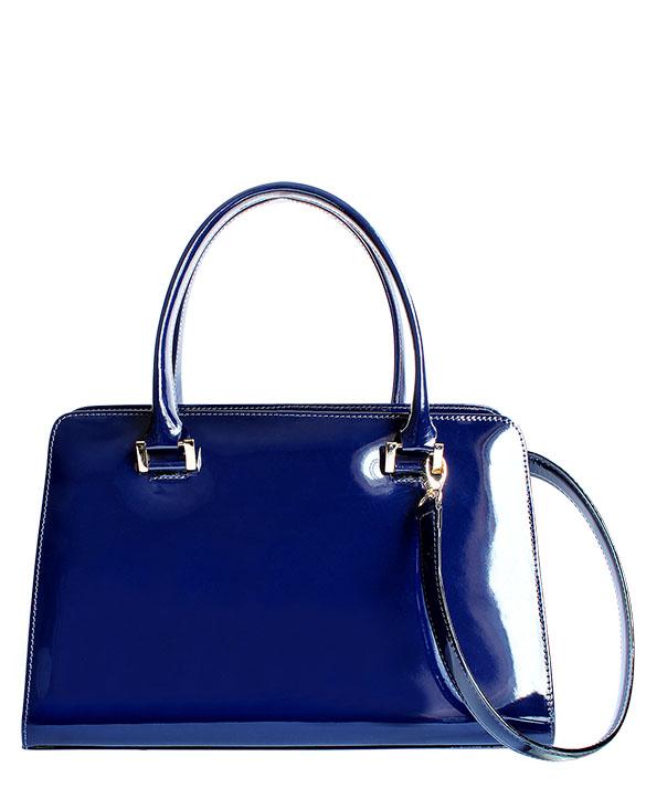 Cartera Satchel DS-3087 Color Azul