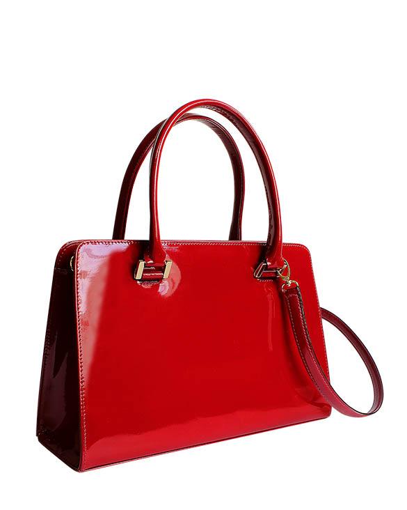Cartera Satchel DS-3087 Color Rojo