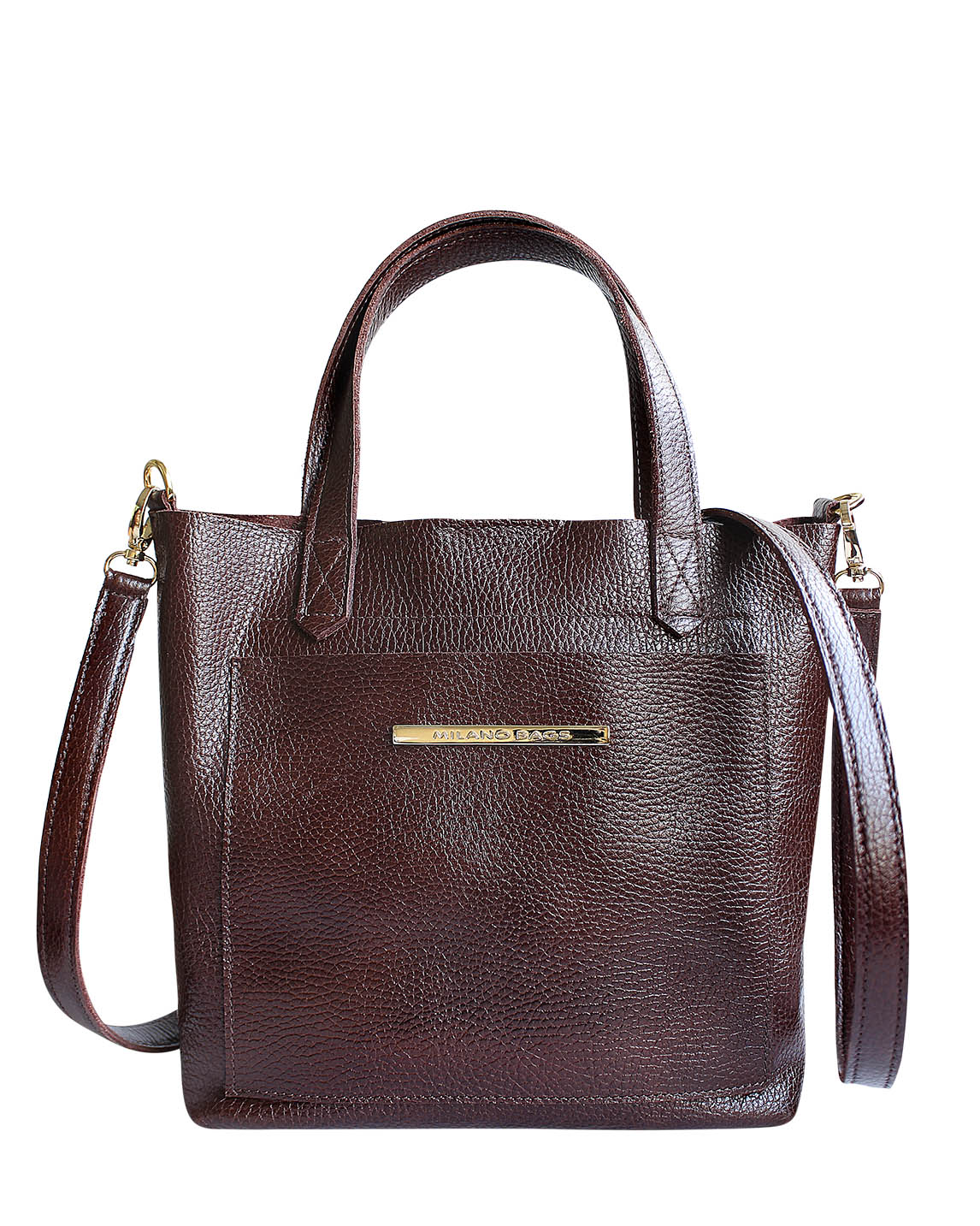 Cartera Satchel DS-3091 Color Marrón