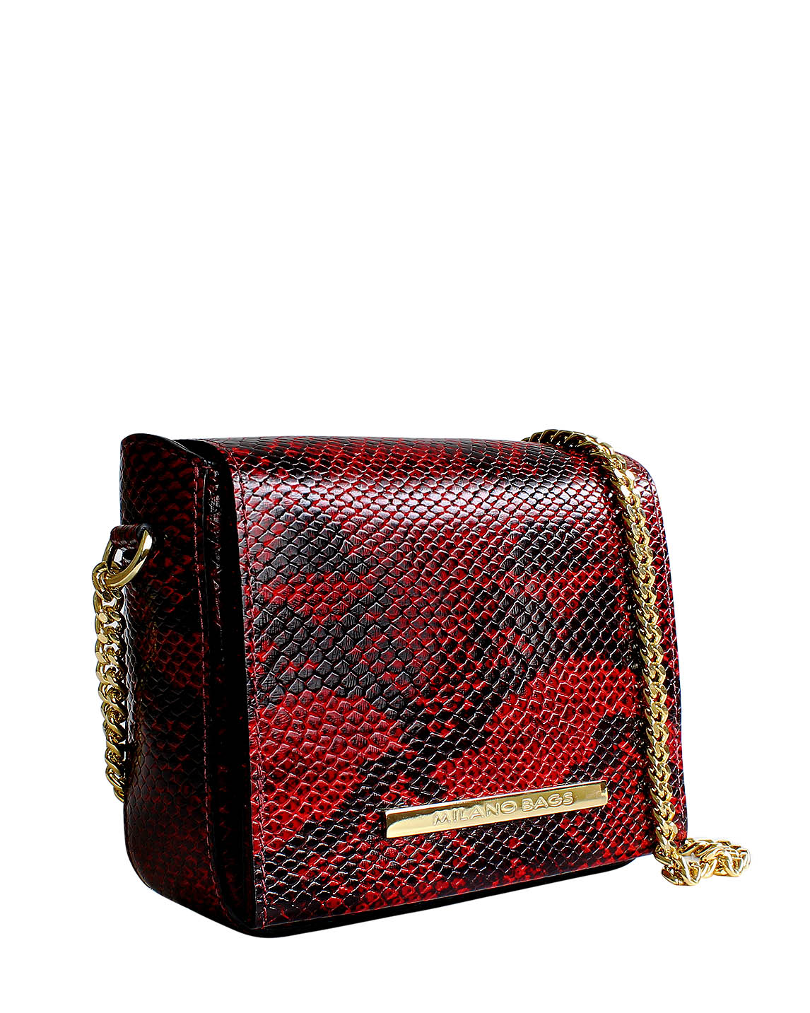 Cartera Satchel DS-3093 Color Rojo