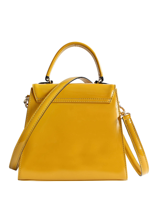 Cartera Satchel DS-3123 Color Amarillo