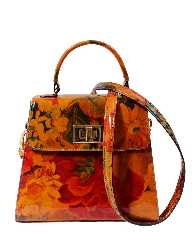 Cartera Satchel DS-3123 Color Naranja