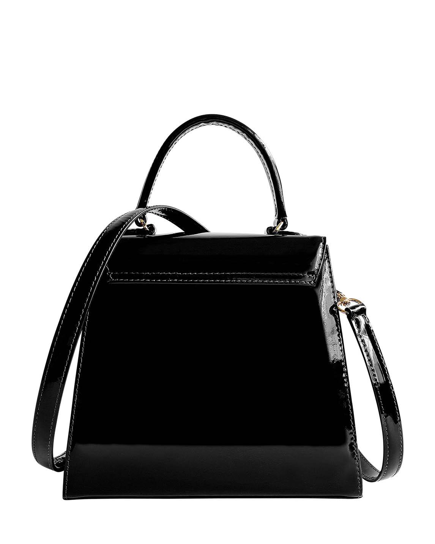 Cartera Satchel DS-3123 Color Negro
