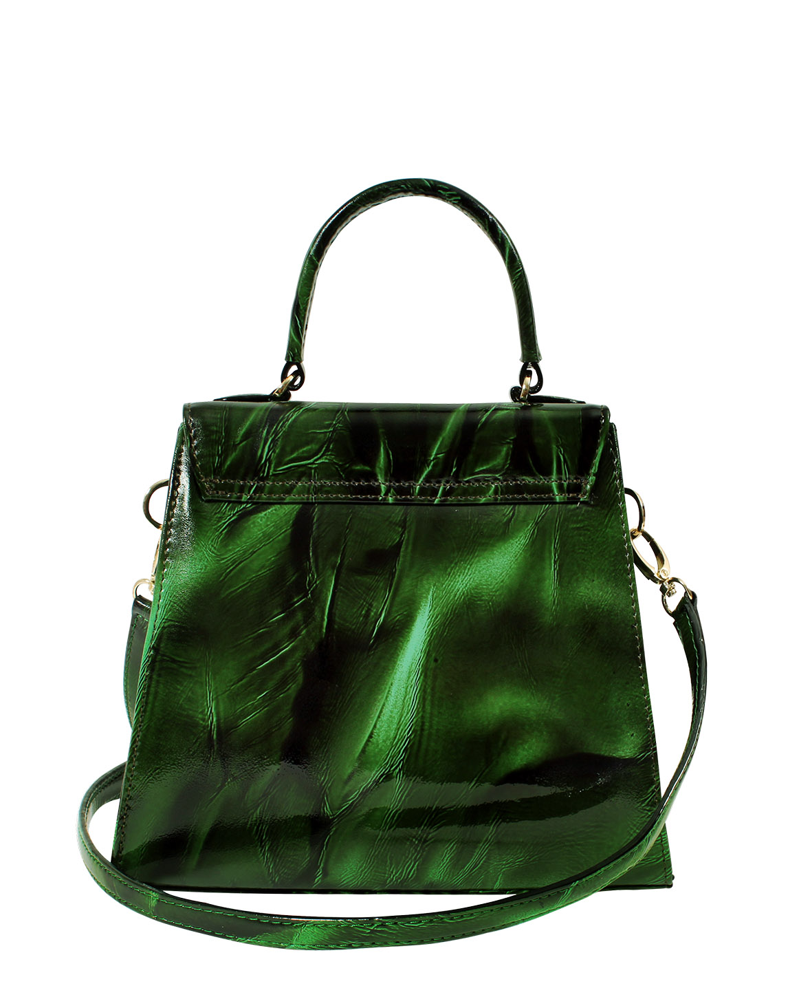 Cartera Satchel DS-3123 Color Verde