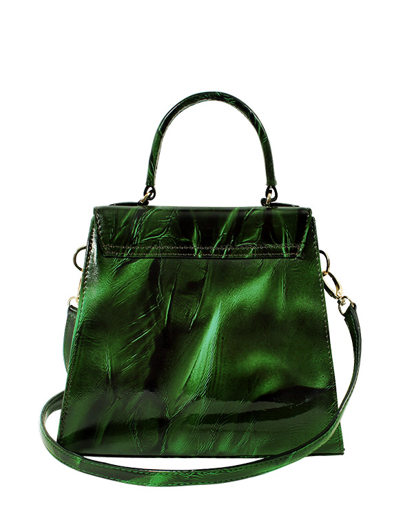 Cartera Satchel DS-3123 Color Verde