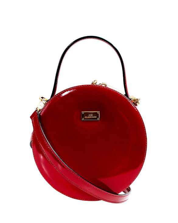 Cartera Satchel DS-3170 Color Rojo