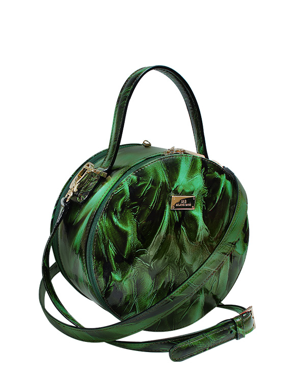 Cartera Satchel DS-3170 Color Verde