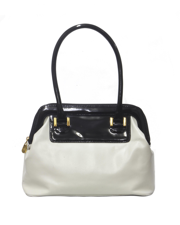 Cartera Shoulder Bag DS-2335 Color Blanco