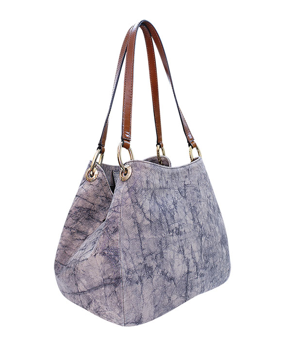 Cartera Shoulder Bag DS-2613 Color Visón