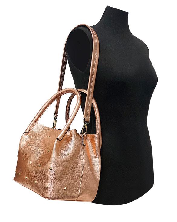 Cartera Shoulder Bag DS-2835 Color Cobre