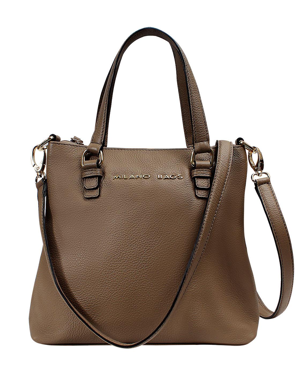 Cartera Shoulder Bag DS-2929 Color Visón