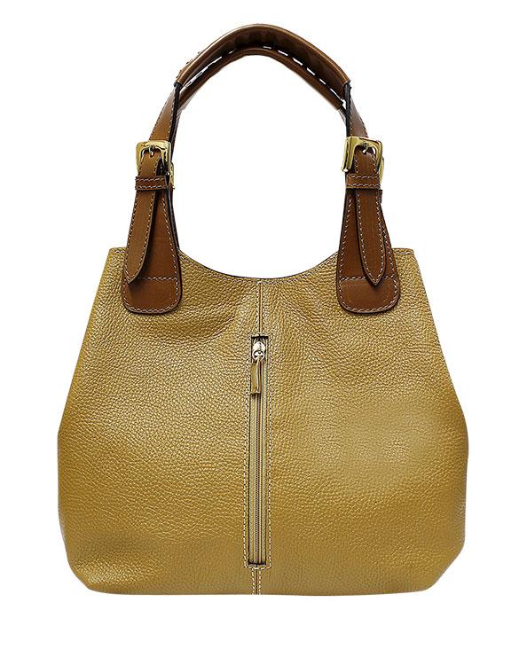 Cartera Shoulder Bags DS-2921 Color Amarillo