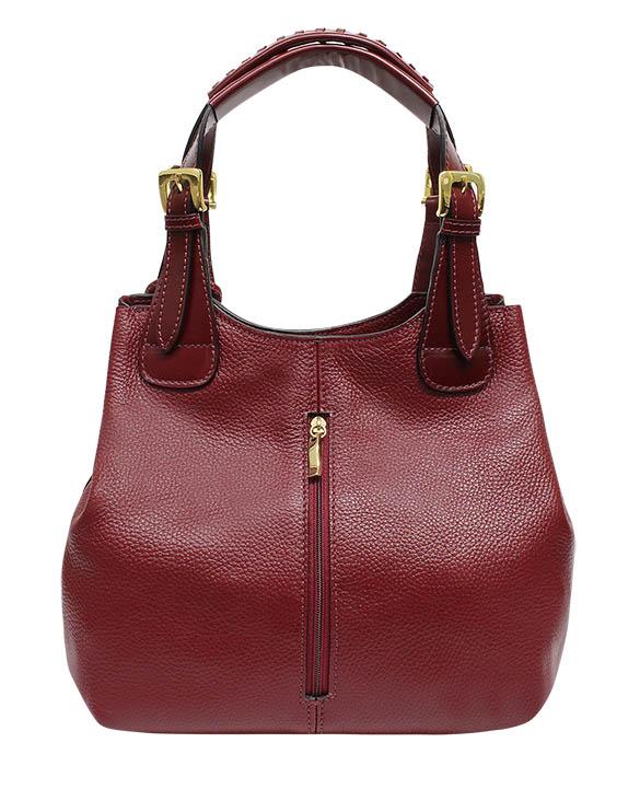Cartera Shoulder Bags DS-2921 Color Rojo