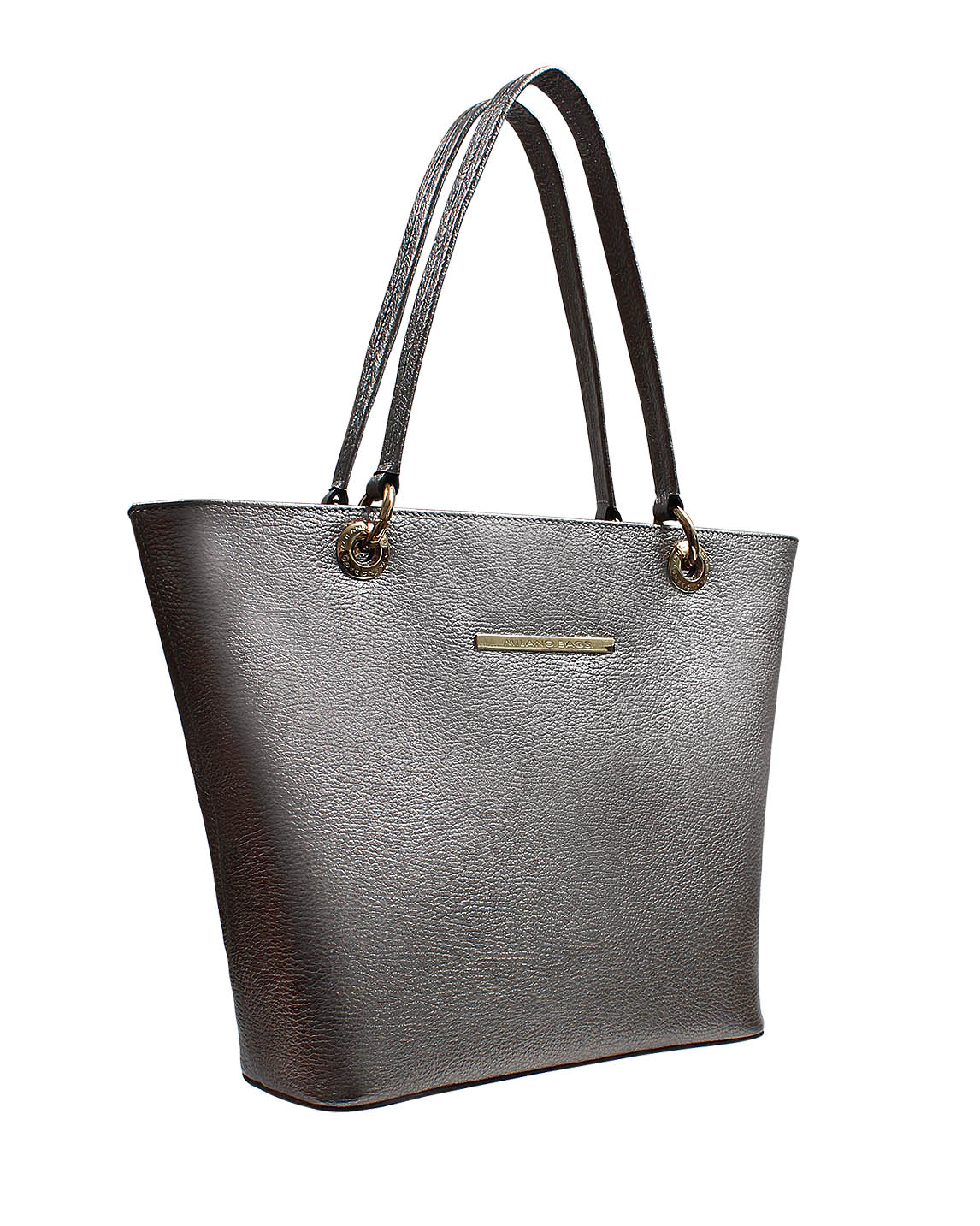 Cartera Tote Bag DS-2530 Color Plata